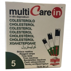 MultiCare IN Cholesterol Strips (5's)
