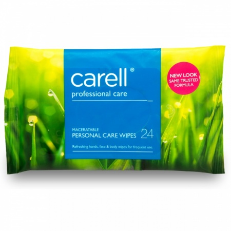 Carell Hand & Face Wipes (24's)
