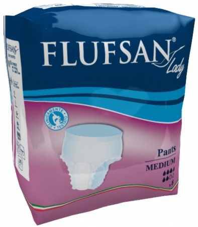 Flufsan Lady Pants - for Light to Moderate Incontinence