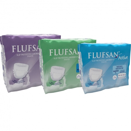 Flufsan Active Pull-up Nappies (pack of 14)
