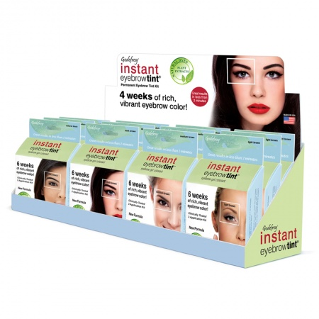 Godefroy Instant Eyebrow Tint for Sensitive Skin Types - 3 Applications