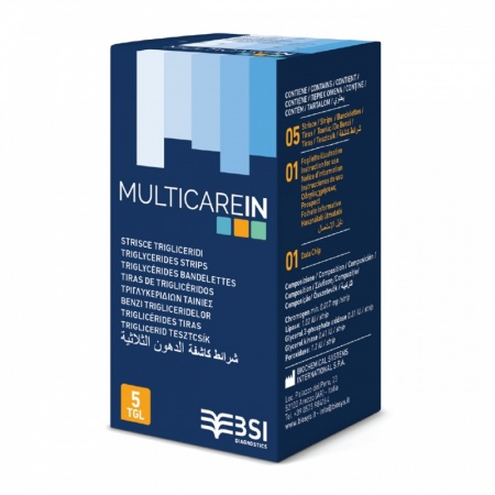 MultiCare IN Triglyceride Strips (5's)