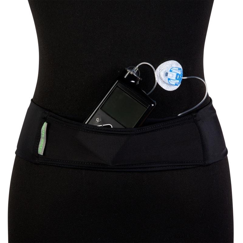 Pump Band Black Insulin Pump Belt