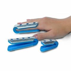 Fold-over Breathable Finger Splint