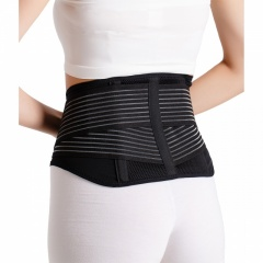 8-inch Breathable Lumbar Support with 2 plastic stays