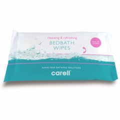 Carell Bed Bath Wipes (8's)
