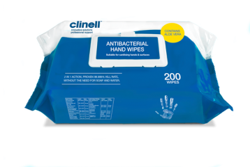 Clinell Antibacterial Handwipes x200