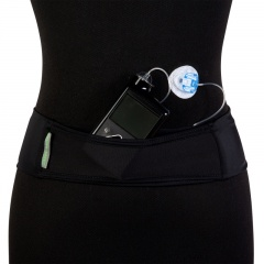 Black Mesh Insulin Pump Belt