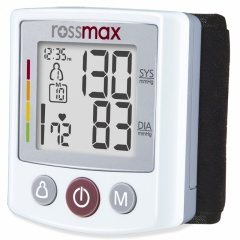 Rossmax Deluxe Wrist Blood Pressure Monitor