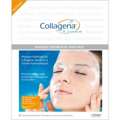 Hydrating & Anti-aging Collagen & Hyaluronic Acid Facemask (5's)